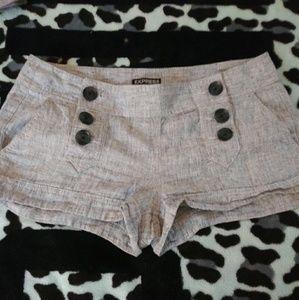 Express size 4 shorts